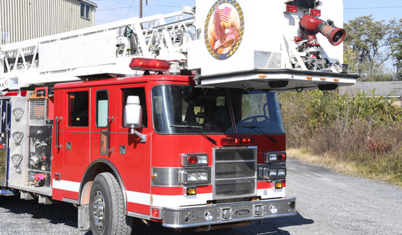 1998 Pierce 85' Aerial Platform Quint 1500/300 full