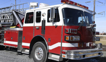 1993 Sutphen 100′ Tower Ladder Quint full