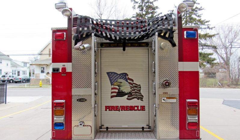 2009 E-One 1750 / 750 Rescue Pumper full